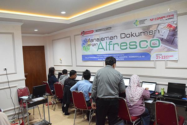 Training Data Management System di BPFK